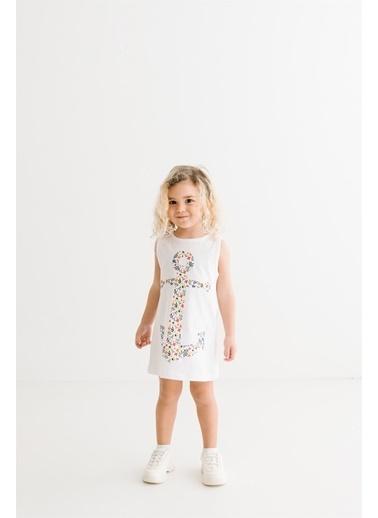 Panolino  Çocuk Elbise 17431 Beyaz